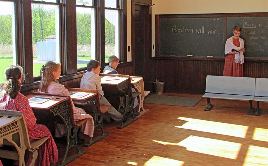 Bethel School Classroom