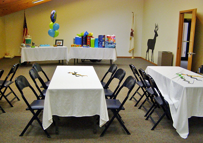 Birthday Parties at Rock Springs Nature Center