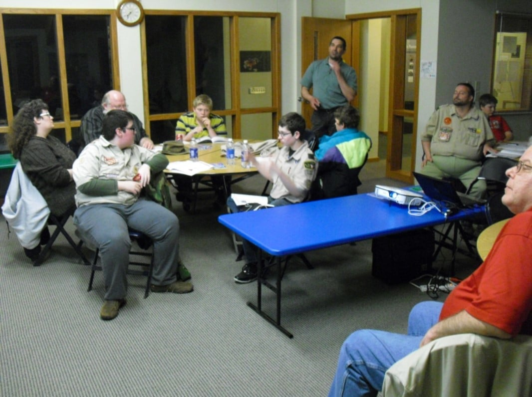 East Conference Room at Rock Springs Nature Center