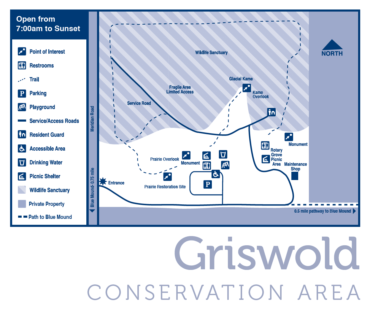 Griswold Conservation Area Map
