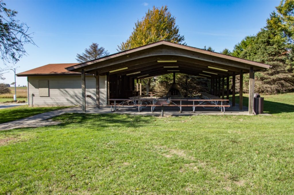 Large Pavilion for Rent at Griswold Conservation Area