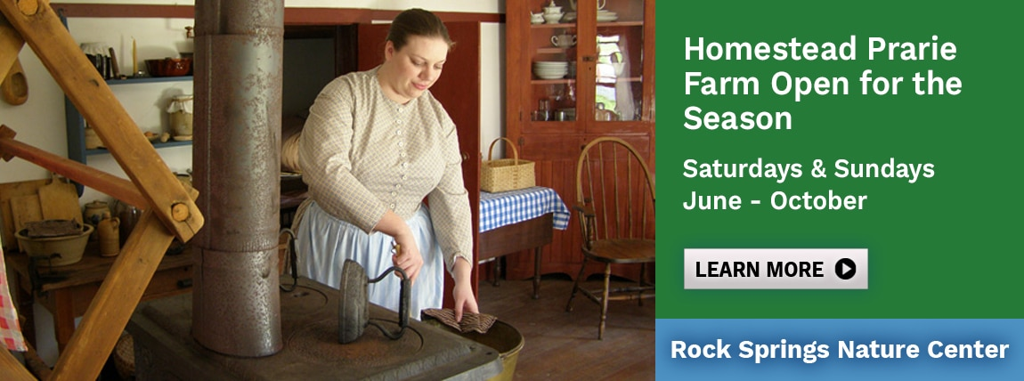 Homestead Prairie Farm Open for the Season, June – October