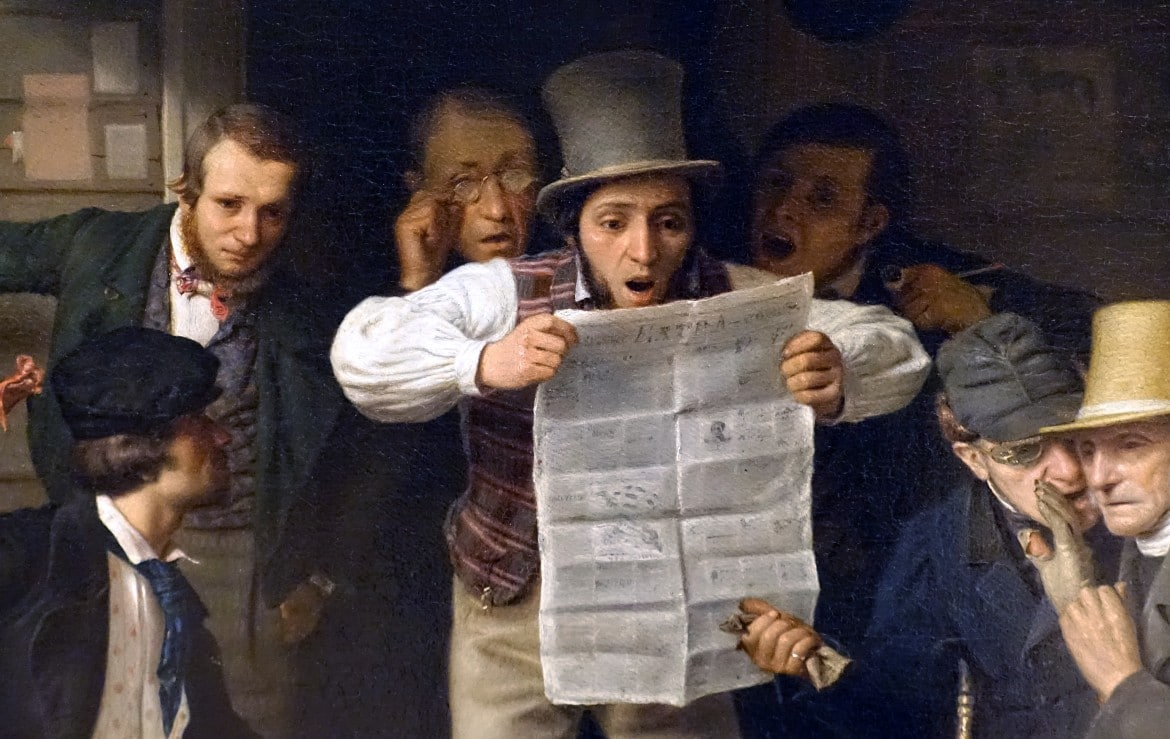 Hands-on History: Newspapers in the 1800s