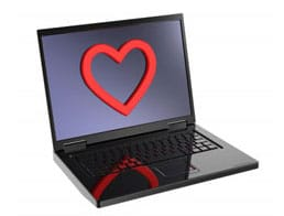 Heart-Laptop
