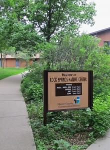 Nature Center Sign