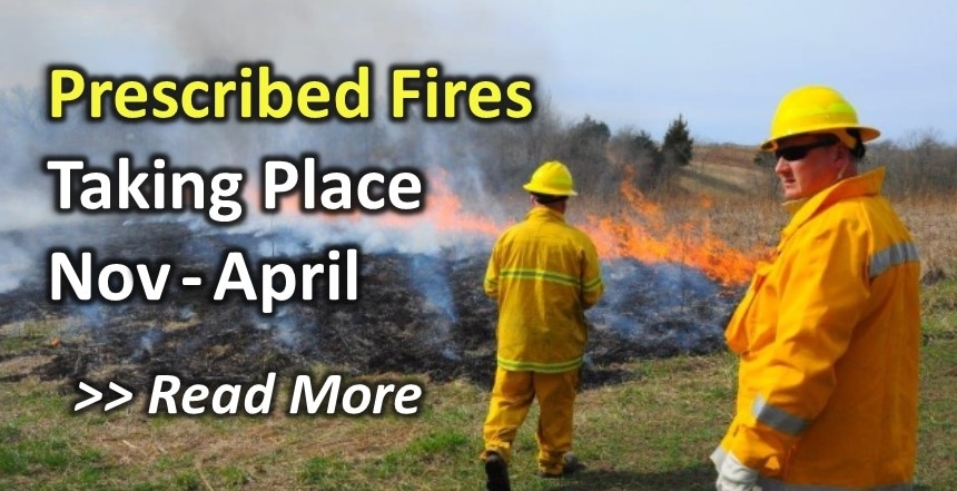 Macon County Conservation Prescribed Fires