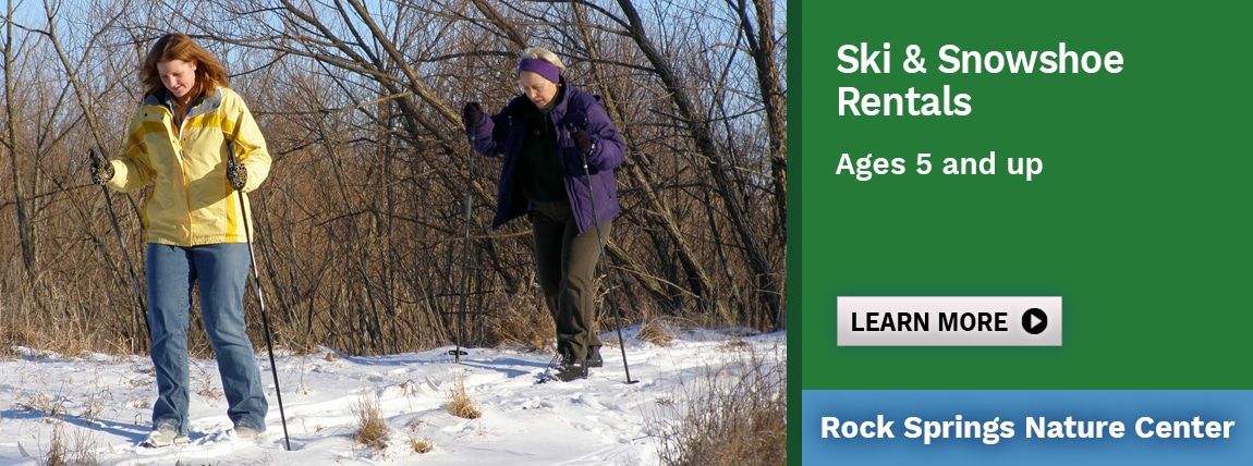 Ski and Snowshoe Rental at Rock Springs
