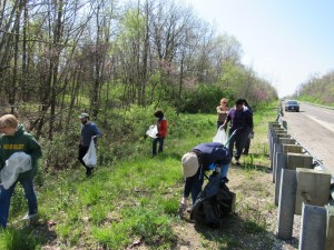 Sangamon River Clean Up