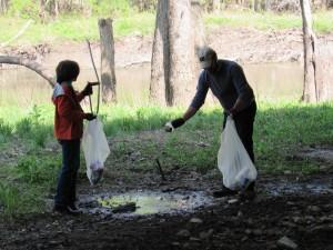 Sangamon River Clean Up