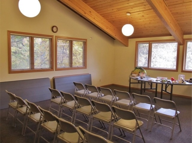 Upper Conference Room at Rock Springs Nature Center