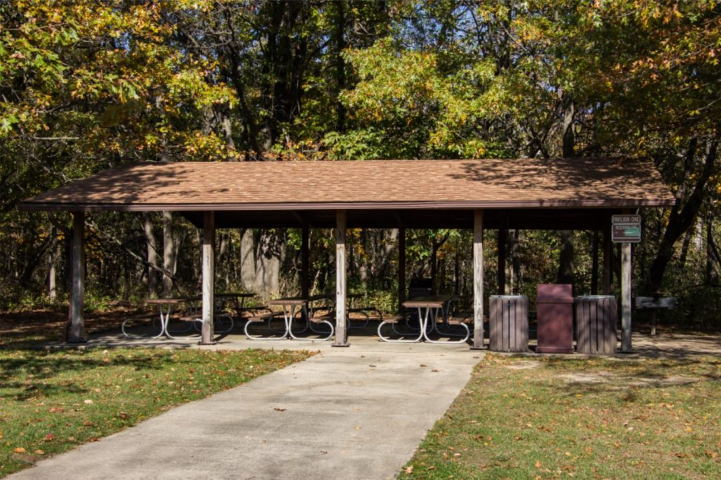 Pavilion for Rent at Rock Springs Conservation Area