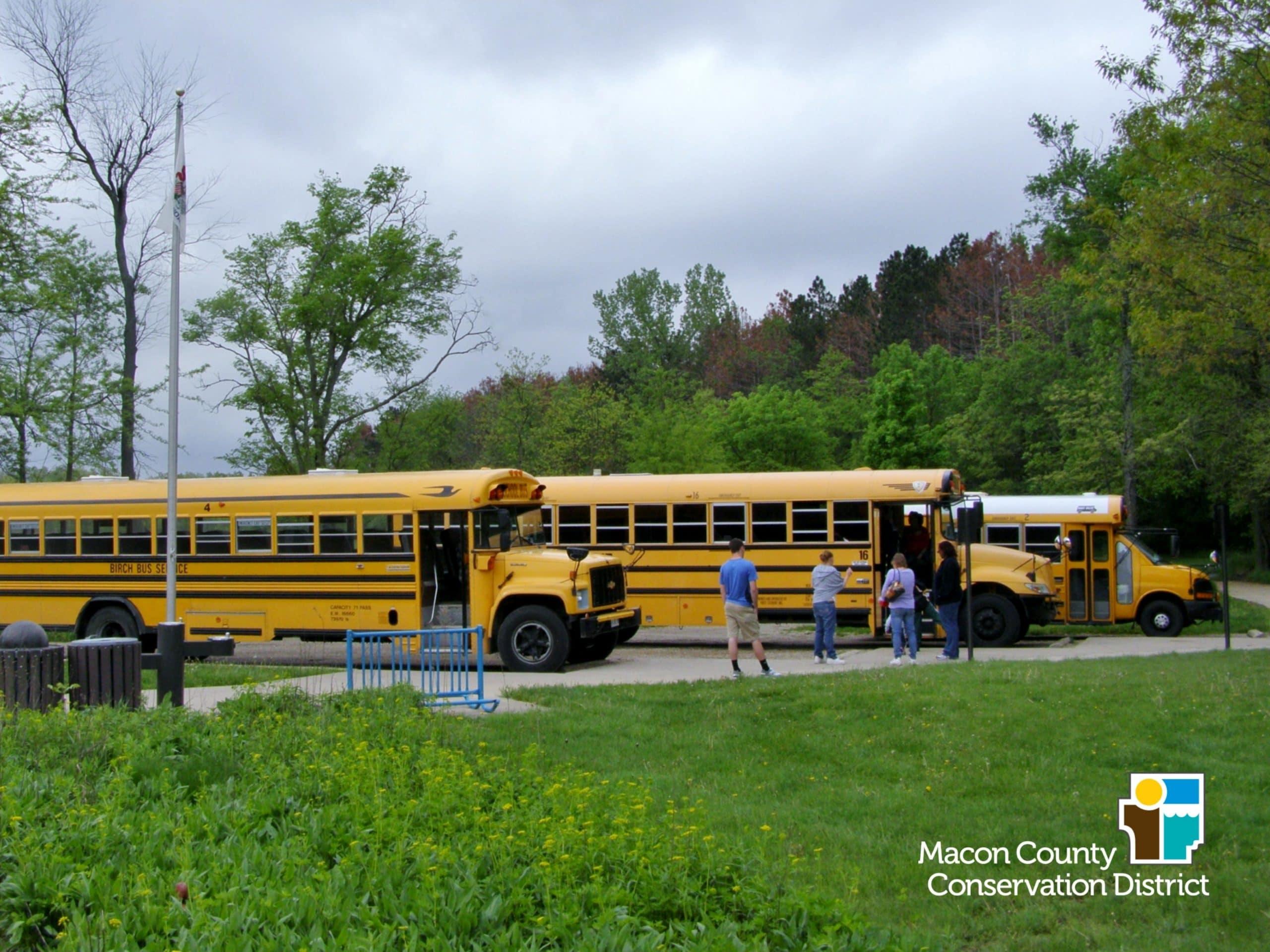 Audubon Field Trip Bus Grants