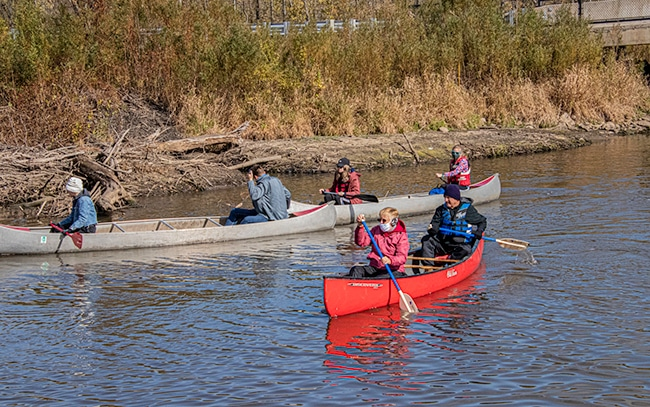 Canoe the Sangamon