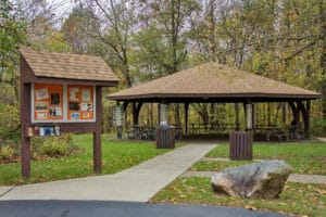 Pavilion Available for Rent at Fort Daniel Conservation Area