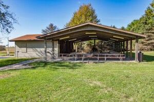 Large Pavilion for Rent at Griswold Conservation Area