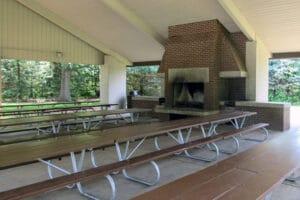 Large Pavilion for Rent at Friends Creek Conservation Area