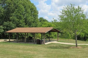 Pavilion for Rent at Rock Springs Conservation Area