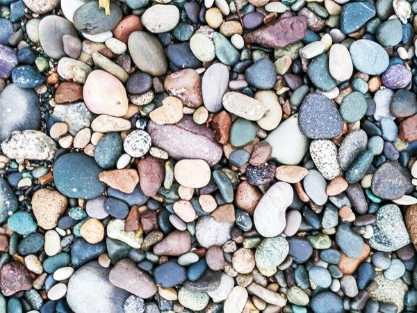 Adult Craft: Pebble Art