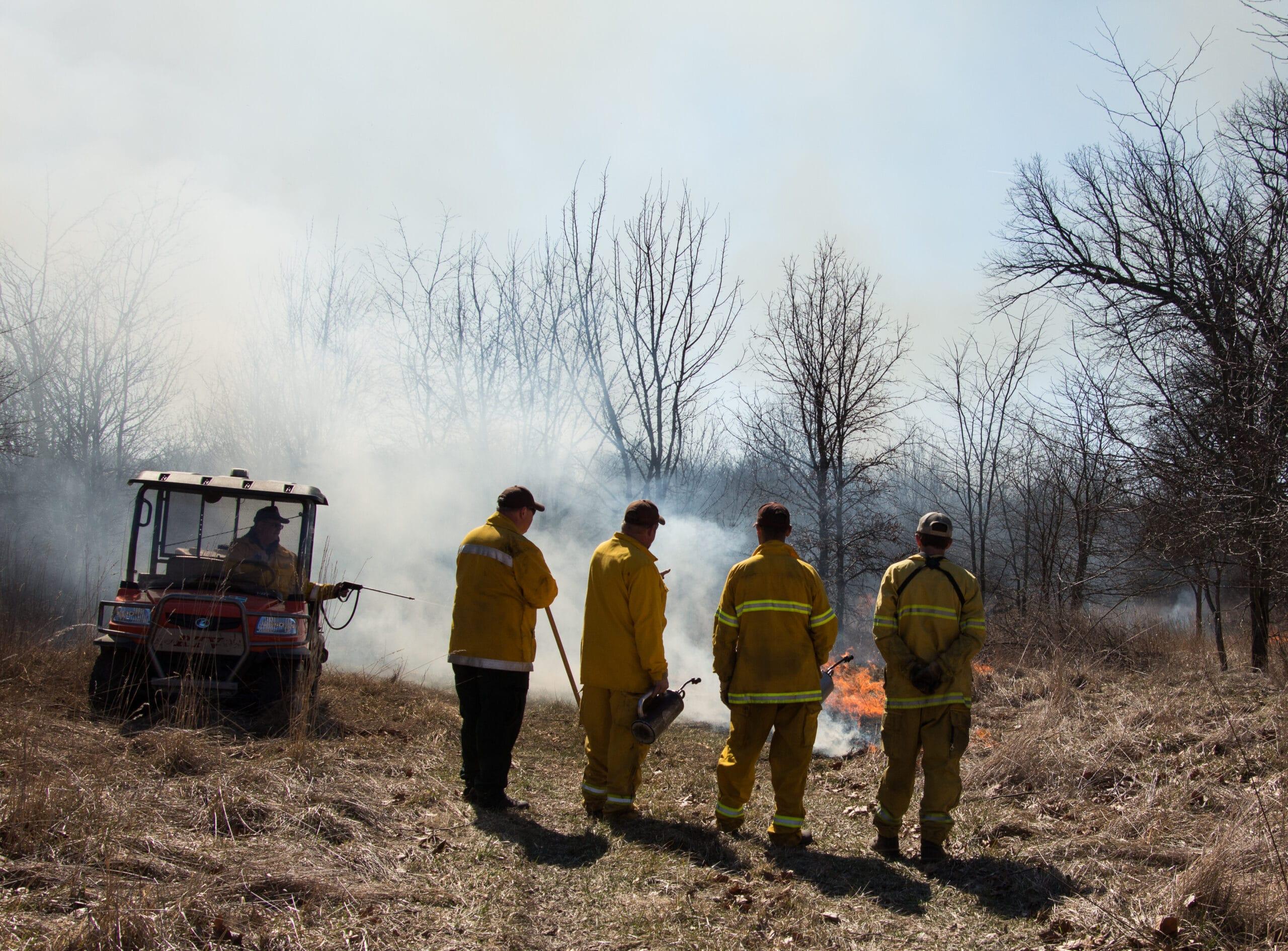 Using Prescribed Fire in Central Illinois