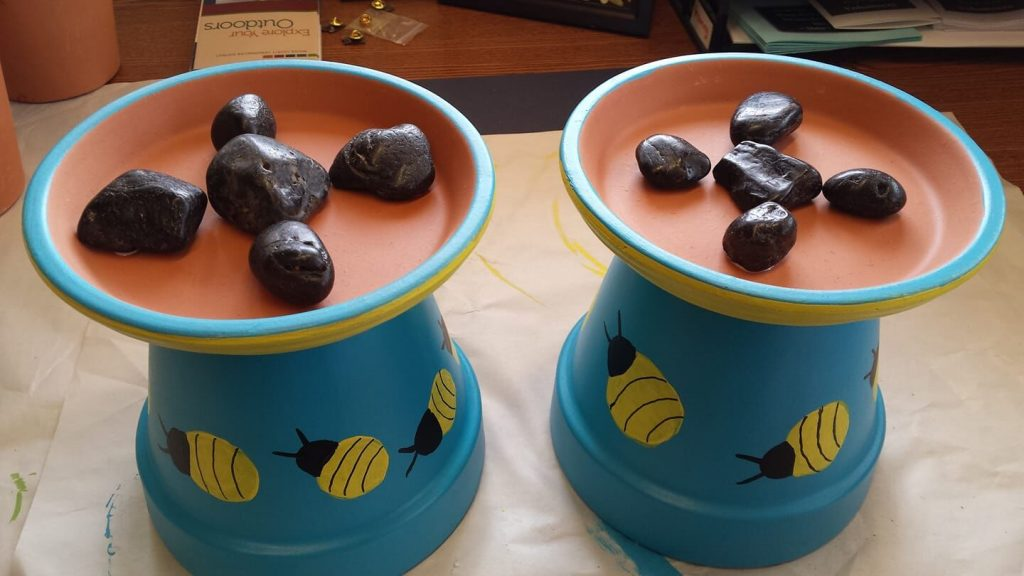 Adult Spring Craft - Bee Bath