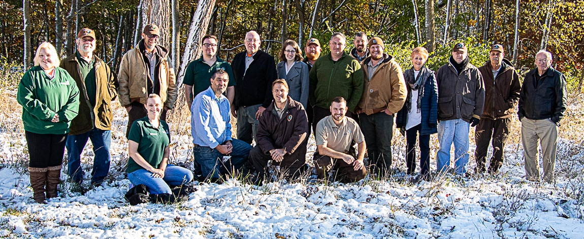 Group photo of Conservation District Staff